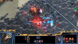 Starcraft 2 - Arcade - Direct Strike - 3vs3 - Commander Alarak - #3