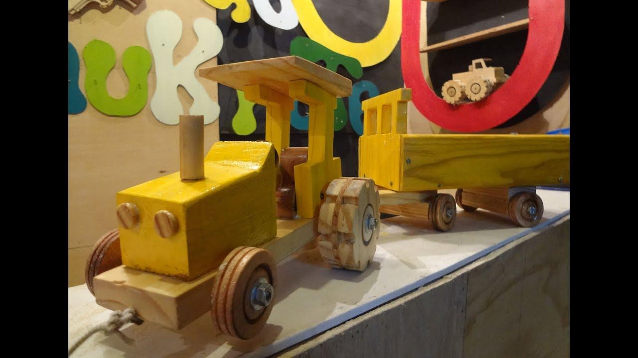 Como Fazer um Tratorzinho de Madeira Dia das Crianças (ft. Tales  #C0A00B 3000x2145