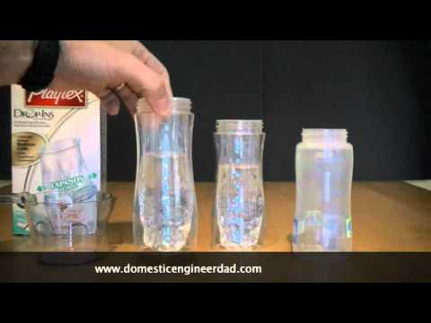 Playtex Drop In Bottles Inaccurate Youtube