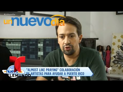 "Cover Lagu ""Almost Like Praying"", unidos para ayudar a Puerto Rico | Un Nuevo Día | Telemundo"