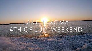 Lake Texoma - 4th of July 2017