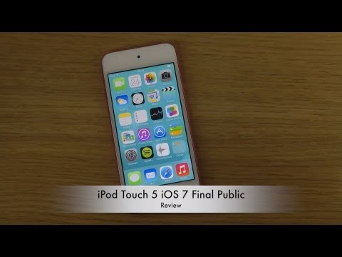 iPod Touch 5 iOS 7 Final Public - Review