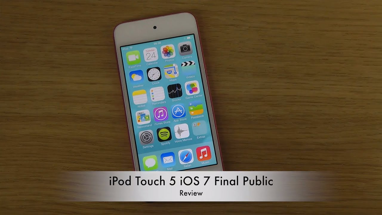 Ipod Ios Ipod Touch 5 Ios 7 Final