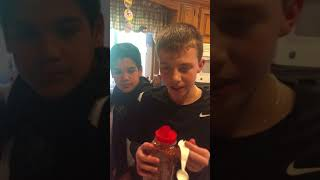Science cooking project- John and Nick