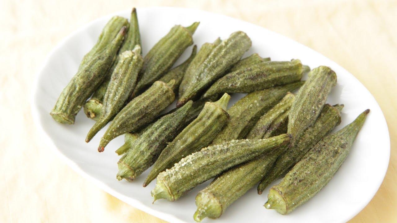 Baked Okra Fries Recipe - Southern Queen of Vegan Cuisine 33/328 ...