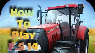 How to play farming Simulator 14 game Indian tech point