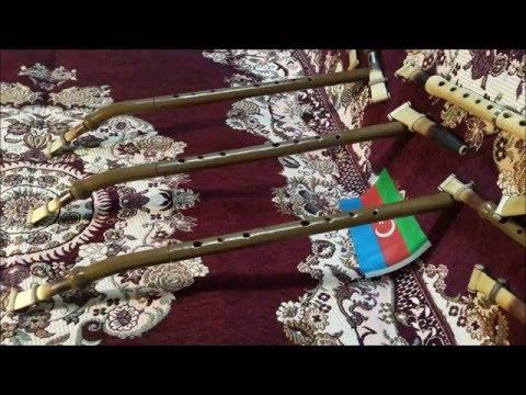 Azeri milli aleti Balaban music (Cagiris-Aheste)