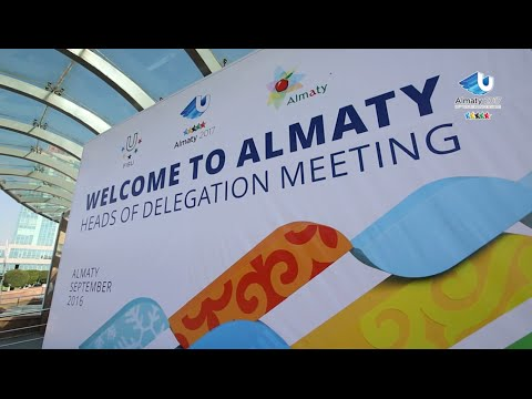 Impressions from the Heads of Delegations Visit  - 28th Winter Universiade, Almaty, Kazakhstan