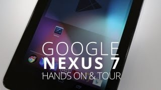 Google Nexus 7 First Impressions & OS Tour