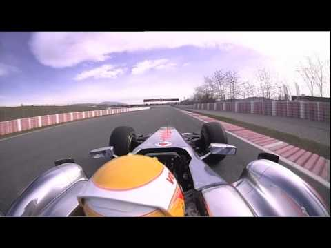 F1 2011 - McLaren - Interview with Hamilton & Button before the Chinese GP