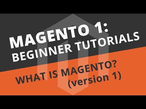 Magento Beginner Tutorials - 01 What is Magento?