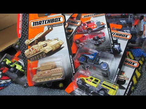 2014 K Matchbox Factory Sealed Case Unboxing