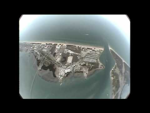 Sky diving at South Padre Island, TX, USA