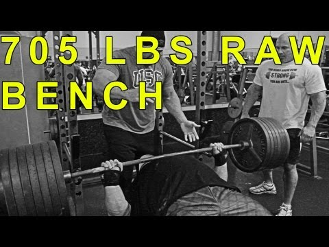 Eric Spoto 705 RAW Bench! Stan Efferding 545 x 2! EVERY SET | ProvingItDVD.com