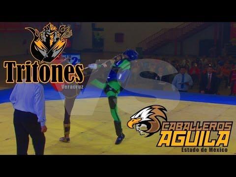 Tritones VS Caballeros Aguila 14 de Junio 2014