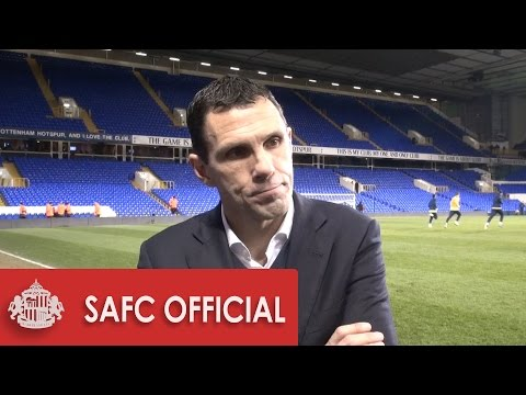 Gus Poyet after Spurs defeat