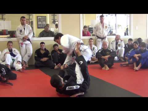 Robson Moura - Brazilian Jiu Jitsu Training -  RMNU Camp 2014 - X-guard sweep Image 1