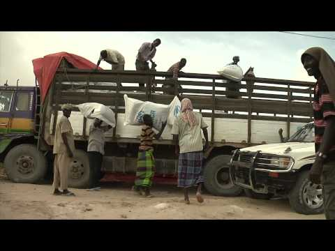 Aid Workers in Somalia - World Humanitarian Day