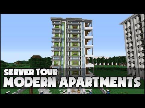 (15.48 MB) Minecraft - Modern Apartment Complex
