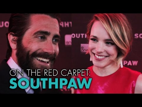 Southpaw Red Carpet: Can Rachel McAdams Punch Harder Than Jake Gyllenhaal?