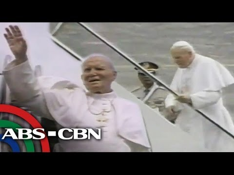 John Paul II's final moments in the Philippines