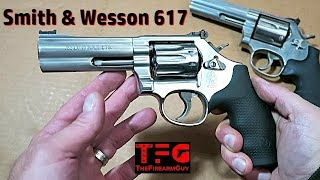 Smith & Wesson 617 Revolver Review - TheFireArmGuy