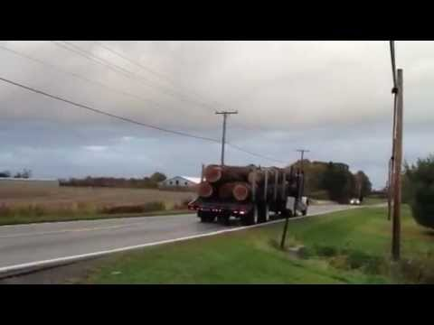 Boreman Hardwoods 2003 Peterbilt 378 Cat C15