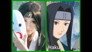 Naruto Shippuden - Difference on anime / cosplay images