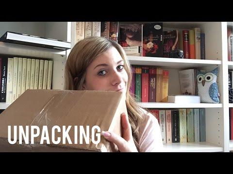 Unpacking Bücher Thoene + Andere Neuzugänge