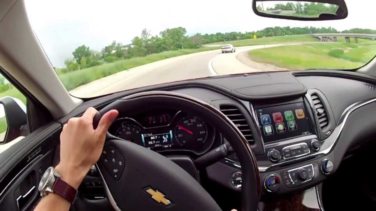 2014 Chevrolet Impala 2lz Wr Tv Pov Test Drive Youtube