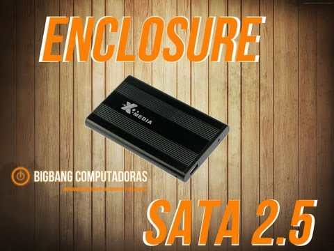 Como instalar un Enclosure SATA IDE  2.5 3.5 How To install
