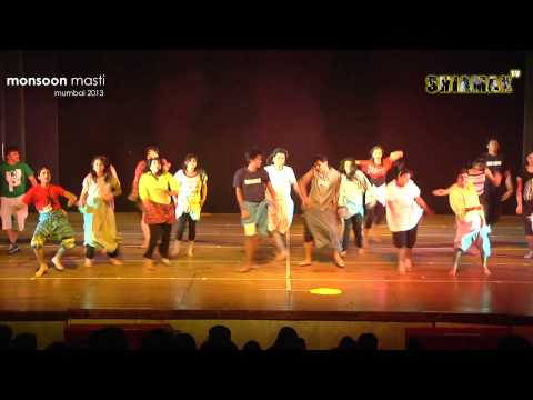 Lungi Dance - Shiamak Monsoon Masti 2013 - Mumbai video