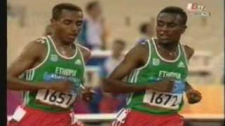 Kenenisa Bekele's Tribute Song - Anbessa By Teddy Afro
