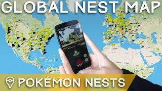 Download lagu The Best PokÉmon Nest Map For PokÉmon Go gratis