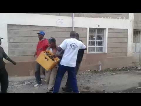 street wrestling Nairobi