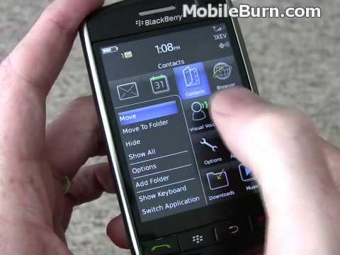 BlackBerry Storm 9530 review - part 1