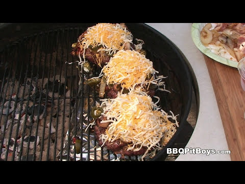 Hell Burger Bacon Cheeseburger recipe by the BBQ Pit Boys