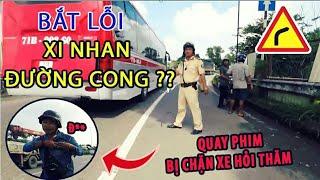 #37 CSGT BẮT LỖI - KHÔNG XI NHAN ĐƯỜNG CONG - TÈN TEN MOTOVLOG