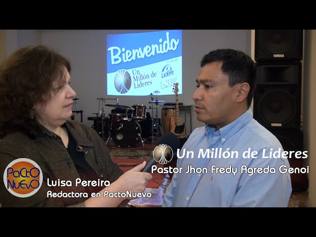 Un Millón de Líderes - UML Valencia - Jhon Fredy Agreda Genoi