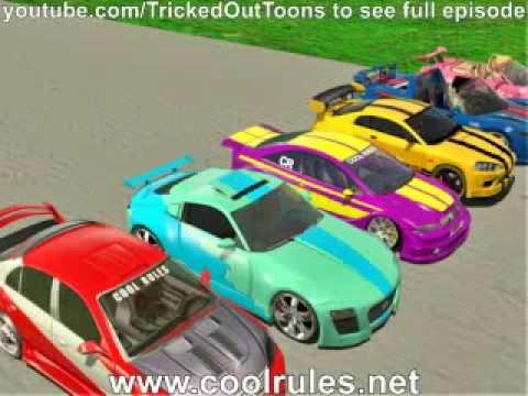 Cool Rules Episode 1 Scene03 - Car Scene