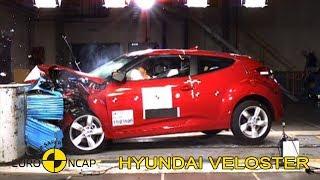 Hyundai Veloster Crash Test Euro NCAP | 2011 Ratings