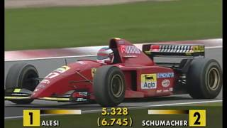 Schumacher vs. Alesi - Amazing Battle at Nürburgring 1995 (50fps Broadcast Quality)
