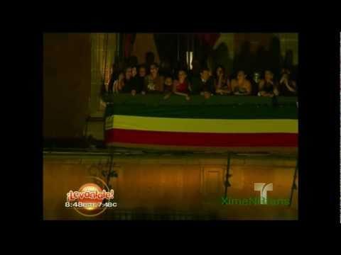 Ximena - Fiestas del Bicentenario y clip de Miss Venezuela Al Rojo Vivo