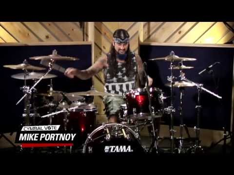 Cymbal Vote - Mike Portnoy - Performance