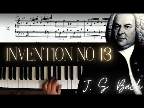 Бах Иоганн Себастьян - 2-part Invention 13