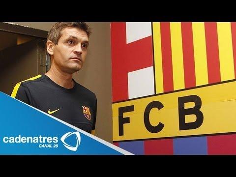 Fallece 'Tito' Vilanova, ex entrenador del Barça / Dies 'Tito' Vilanova, former coach of Barça