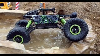 BRUDER TOY KID Bruder tunnel project RC ROCK CRAWLER Test Drive