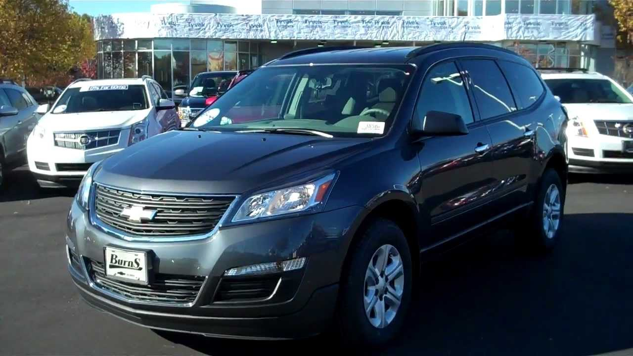 2013 Chevrolet Traverse Ls Cyber Grey Burns Chevrolet