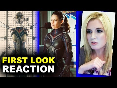 Ant-Man & The Wasp FIRST LOOK Evangeline Lilly Suit REACTION