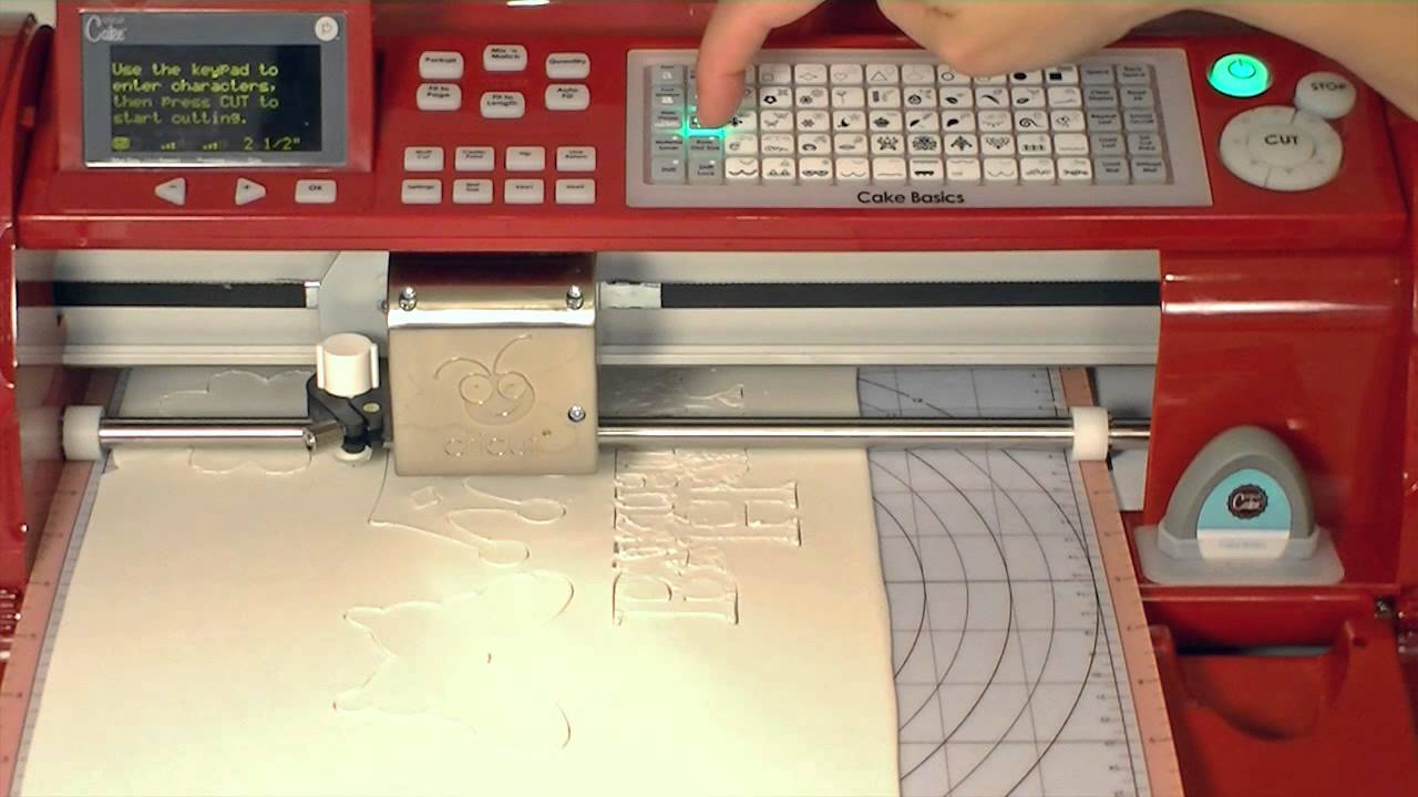 Cricut Mini For Cakes